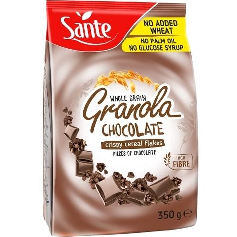 Sante Хрустящие злаковые хлопья Granola с шоколадом 350г