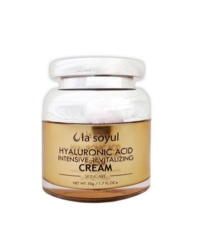 LA SOYUL Hyaluronic Acid Intensive Revitalizing Cream / Крем с гиалуроновой кислотой для интенсивного востановления кожи, 50 г