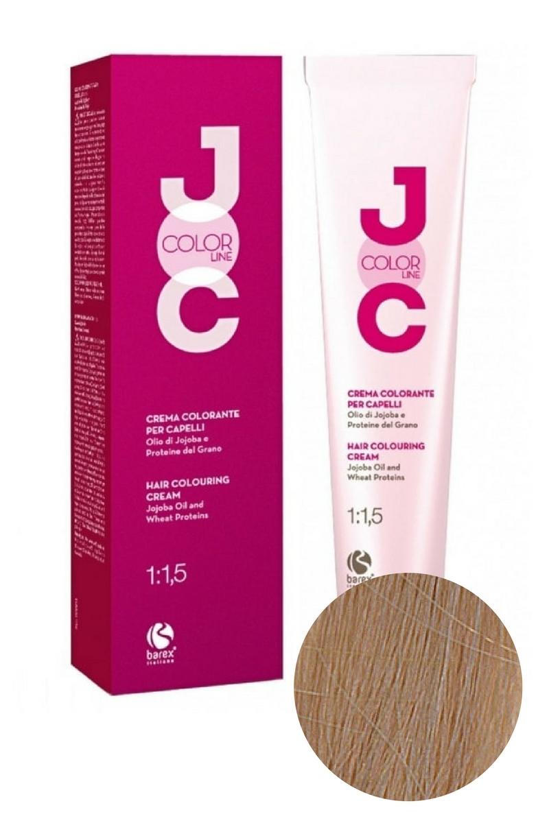Крем-краска для волос 10.1 экстра светлый блондин пепельный JOC COLOR, Barex