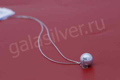 Колье с перламутром из серебра 925