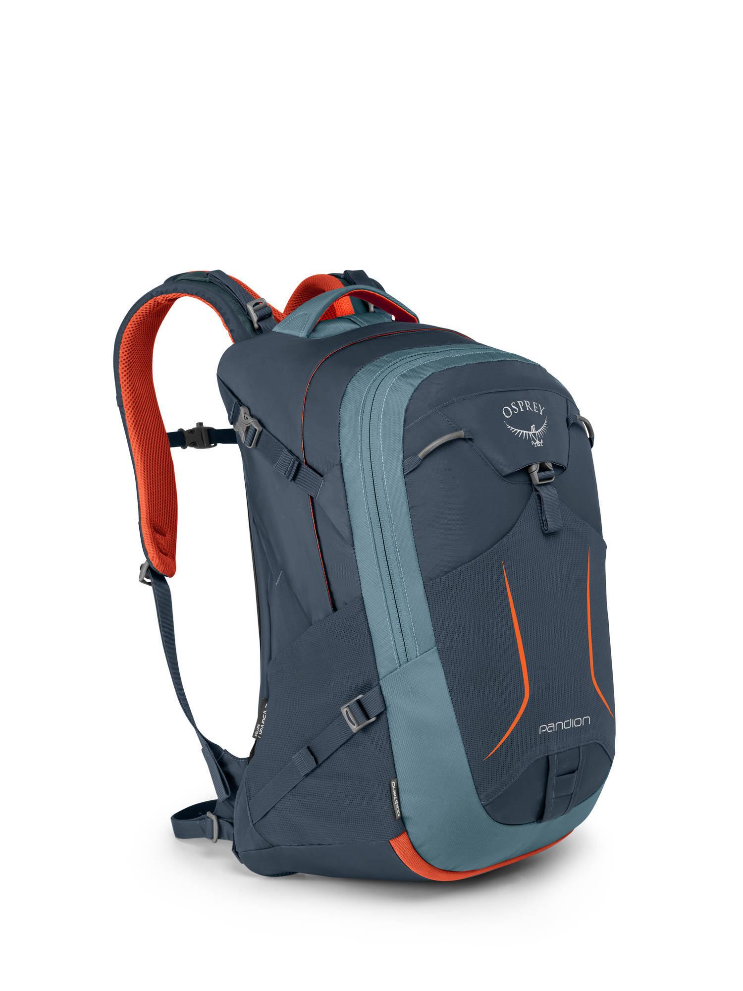 Городские рюкзаки Рюкзак городской Osprey Pandion 28 Amour Grey Pandion_F17_Side_Armor_Grey_web.jpg