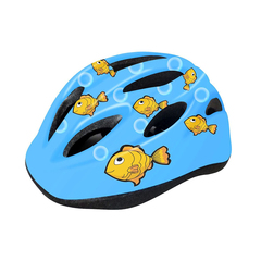 Велошлем детский  Cigna WT-021 (чёрный/голубой)