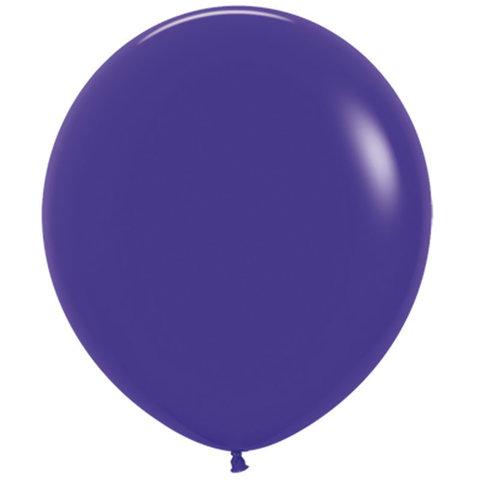 Шар (30''/76 см) Фиолетовый (051), пастель