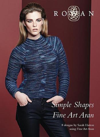 Журнал SIMPLE SHAPES Fine Art Aran Rowan