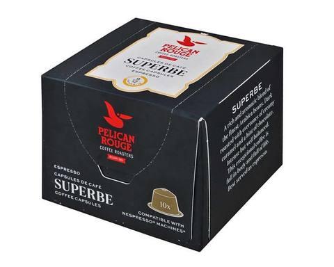 Кофе в капсулах Pelican Rouge Superbe, 10 капсул для кофемашин Nespresso