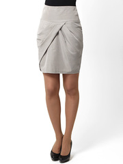 5461-2 юбка серая