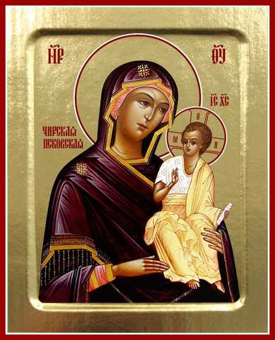 Чирская икона Божией Матери, на дереве, 125х160 мм