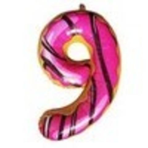 Y Фигура Цифра 9 Пончик 40