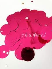 Пайетки Цвет: Малина, Зеркальные