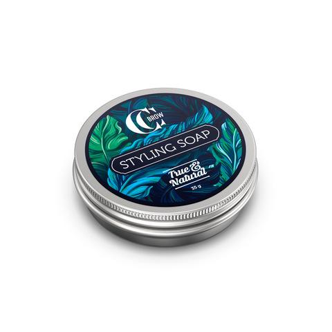 Мыло для укладки бровей со щеточкой Styling Soap, True&Natural, 35 г