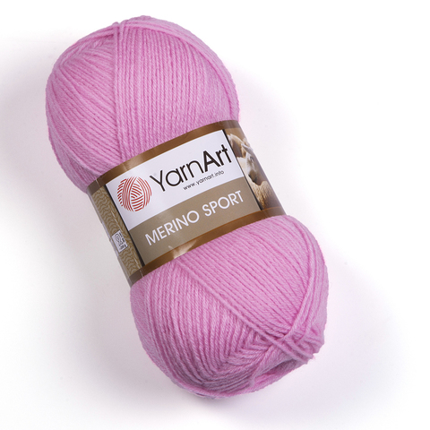 Пряжа Merino Sport (Мерино Спорт ). Цвет: розовый. Артикул: 784