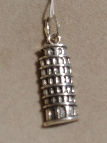 Башня (серебряный кулон)