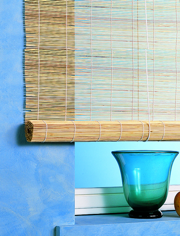 Бамбуковая рулонная штора Форест бежевый