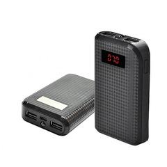 Power Bank Remax Proda 10000mAh 2USB(1A+2A), цифровой дисплей с подсветкой, фонарик 1LED (132)