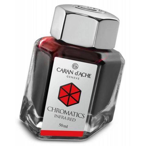 Флакон с чернилами Carandache Chromatic (8011.070) Infrared для перьевых ручек 50мл