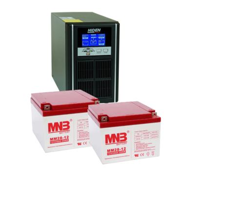 Комплект ИБП UDC9201H-АКБ MM28 (24в, 800Вт)