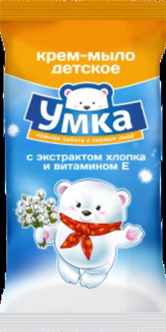 Детское мыло с экстрактом хлопка и витамином Е