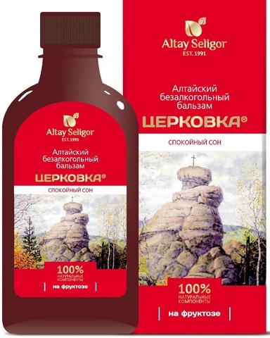 Алтайский бальзам на фруктозе Церковка фото1