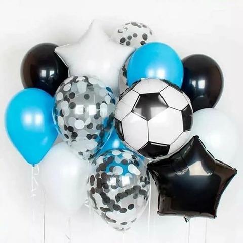 Фонтан из шаров Футбол