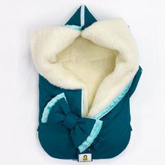 СуперМамкет. Конверт-одеяло всесезонное Мультикокон ®, Denim, морская волна