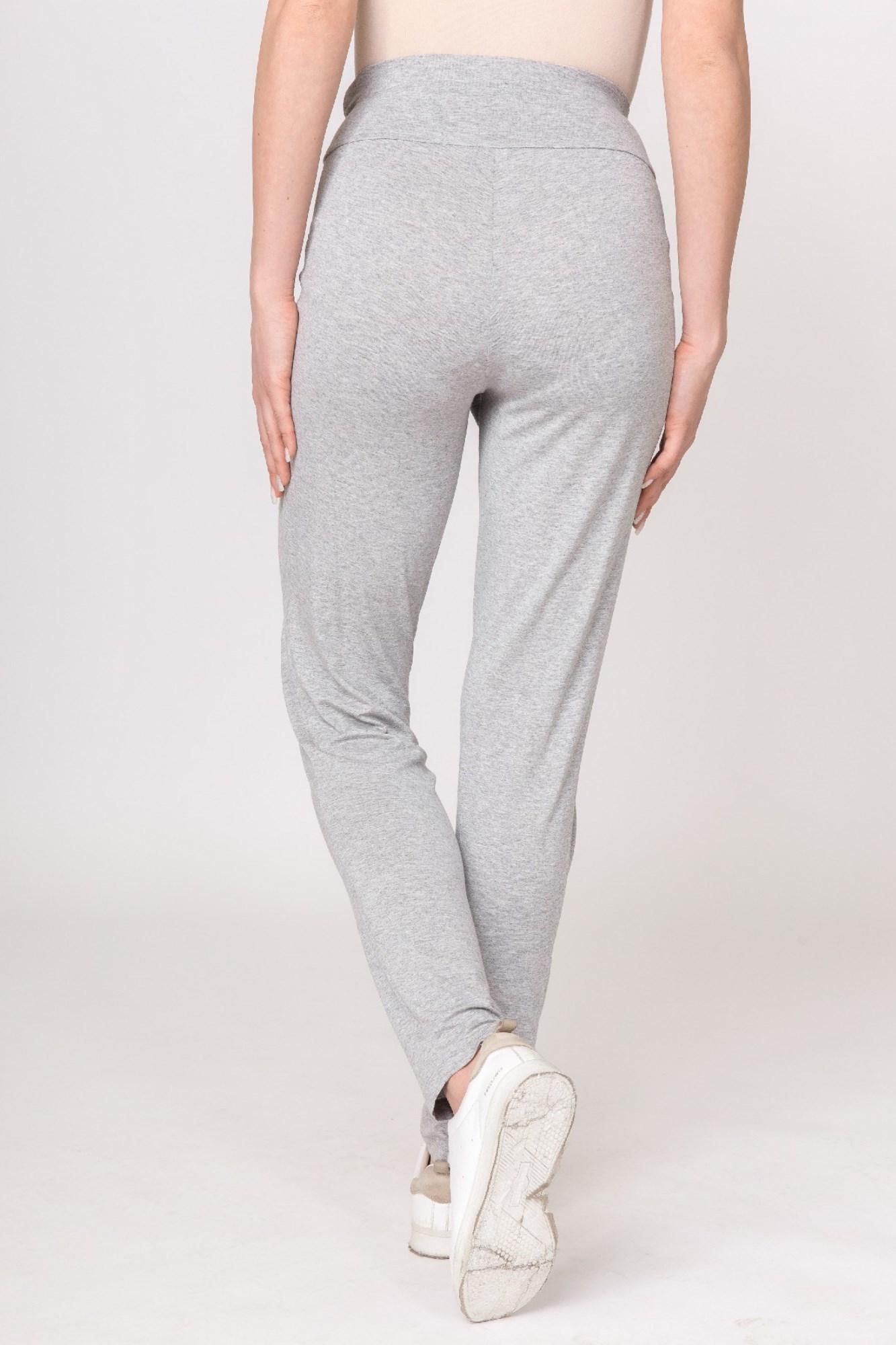 Спортивные брюки для беременных 03220 серый