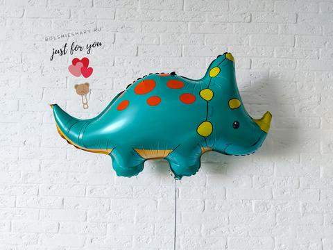 Воздушный шар трицератопс