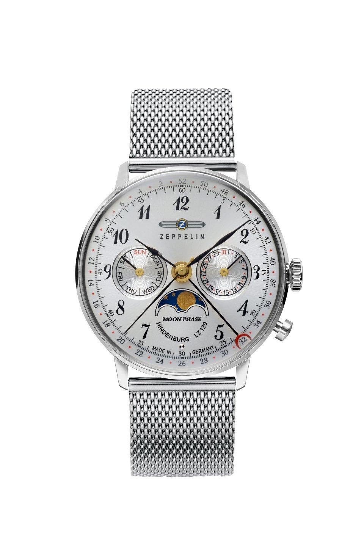 Женские часы Zeppelin LZ129 Hindenburg Moonphase 7037M1