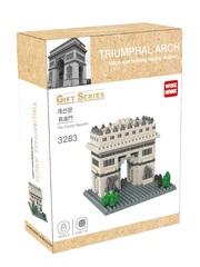 Конструктор Wisehawk & LNO Триумфальная арка Франция 502 деталей NO. 3283 triumphal arch Gift Series