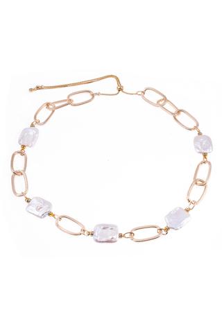 Ожерелье Aurora Metallo Ovale золотистое