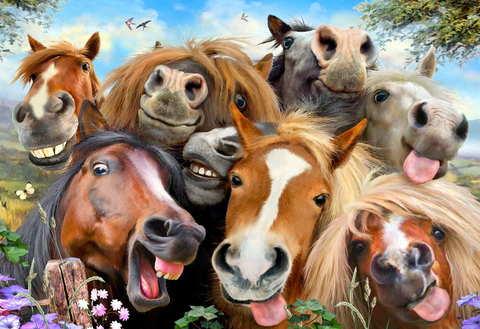 Веселые лошадки (Wooden City)