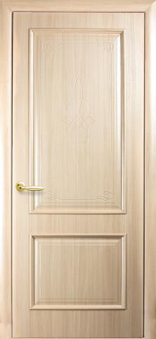 Дверь Вилла ДГ (ясень, глухая ПВХ), фабрика Новый Стиль