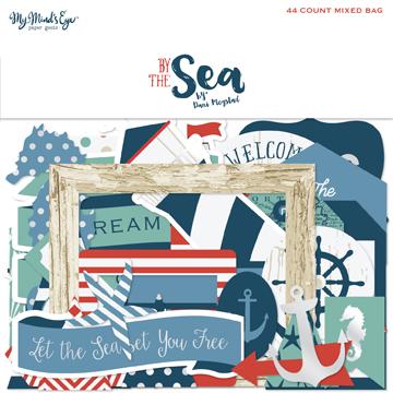 Высечки из коллекции BY THE SEA от My Mind