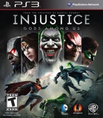 Injustice: Gods Among (PS3, русские субтитры)