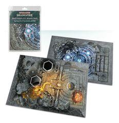 Warhammer Underworlds: Shattered City Boards