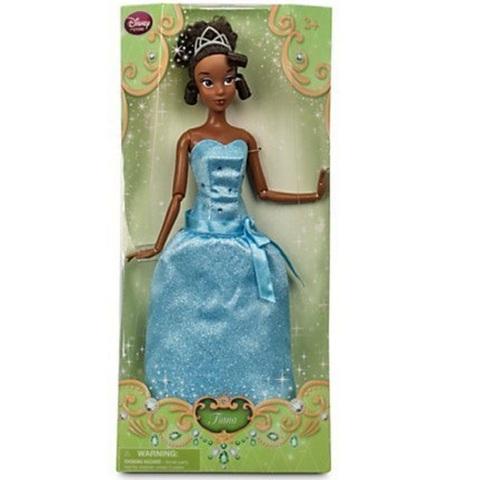 Дисней Принцесса и лягушка Тиана в голубом платье 2015