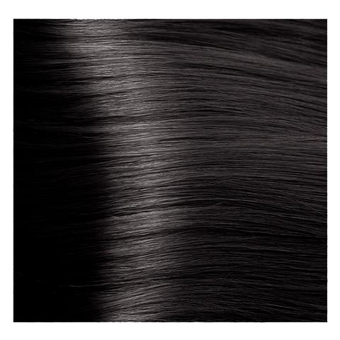 Крем краска для волос с гиалуроновой кислотой Kapous, 100 мл - HY 5.18  Светлый коричневый лакричный