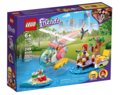 Konstruktor LEGO Friends Vet Clinic Rescue Helicopter Building Kit