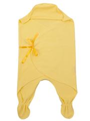 Чудо-Чадо. Конверт-одеяло БыстрОдежка Эльф хлопковый желтый вид 2