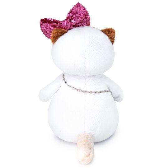 Кошечка Ли-Ли с бантом в пайетках и сумочкой