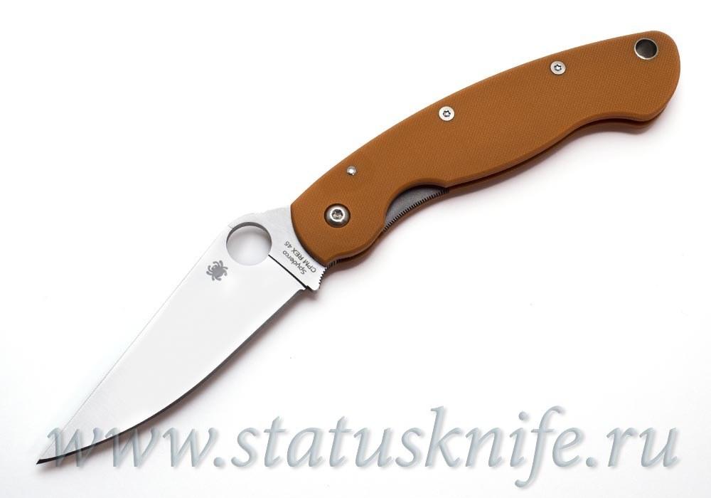 Нож Spyderco Military C36GPBORE REX 45