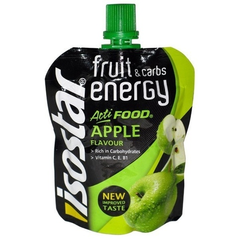 Энергетический гель Isostar GEL Actifood Apple 90 г