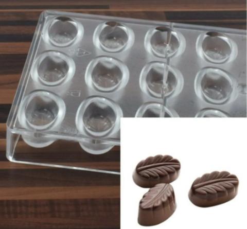 Поликарбонатная форма для шоколада  ПЕРО 24в1