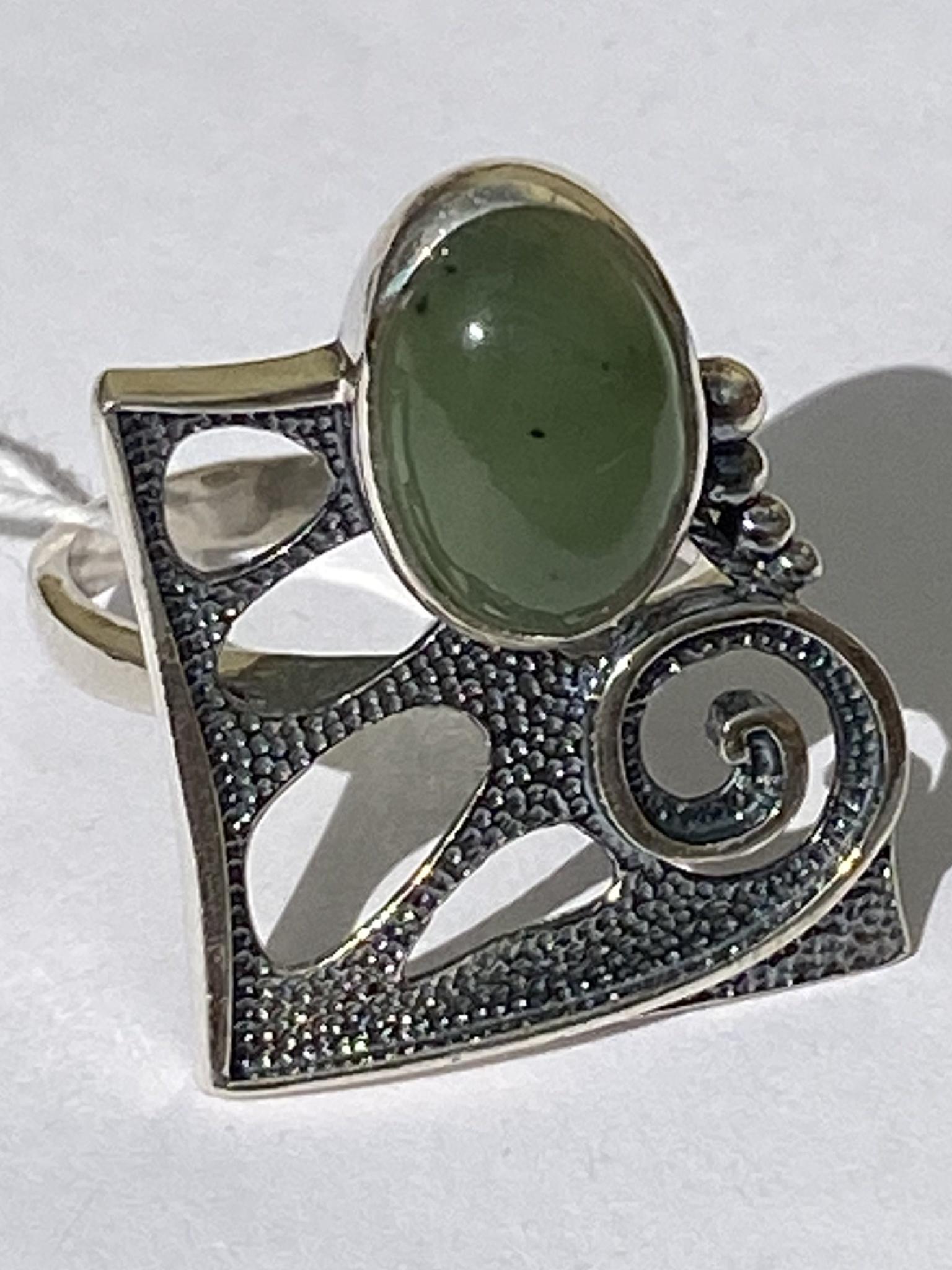 Тита (кольцо из серебра)