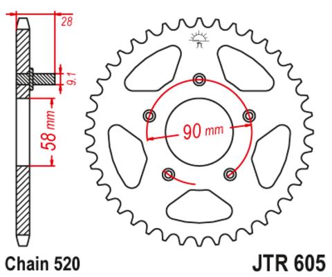 JTR605