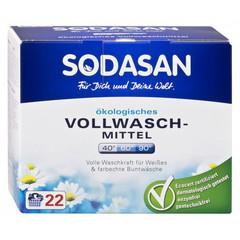 Порошок стиральный отбеливающий, Sodasan, отбелевает и удаляет загрязнения, 1,2 кг