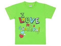 ELBK14-100-43 футболка для мальчиков, зеленая