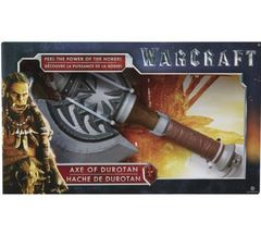 Warcraft The Movie - Role Play Plastic Replica Axe Of Durotan 40cm