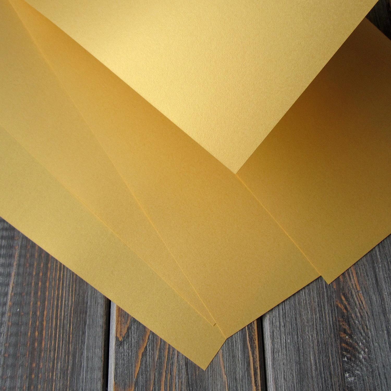 Бумага «Волшебство» (Золото) 120 гр/м2 А4