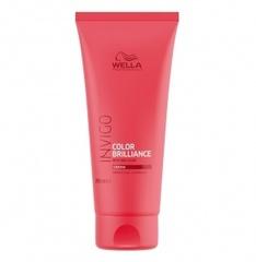 WELLA INVIGO COLOR BRILLIANCE Бальзам-уход для защиты цвета окрашенных жестких волос 200 мл