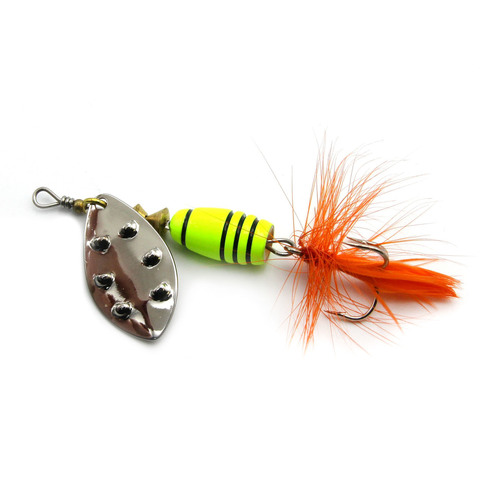 Блесна Extreme Fishing Total Obsession №1 5g 16-FluoYellow/S